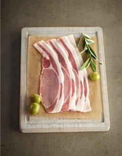 Olive Pork Bacon Rashers