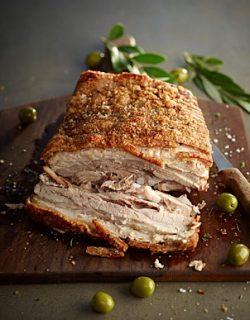 Olive Pork Irish Pork Belly